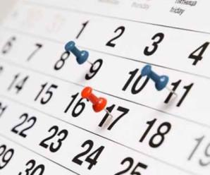 E' online il calendario delle lezioni 2016/2017
