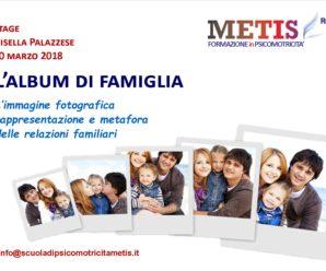 10 MARZO 2018 A ROMA L'ALBUM DI FAMIGLIA